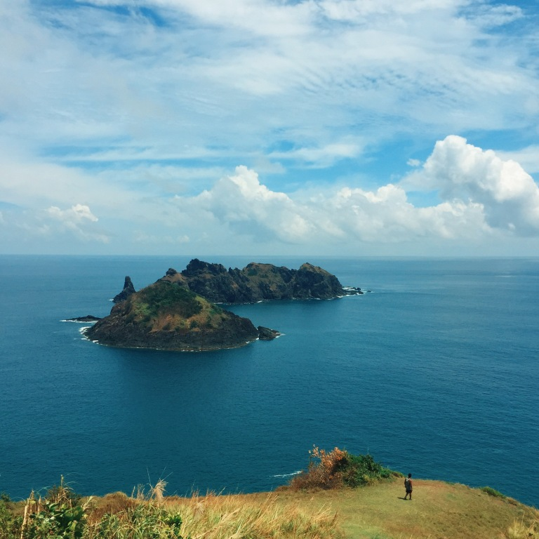 View from Cape Engano Lighthouse. Dos Hermanos Islets