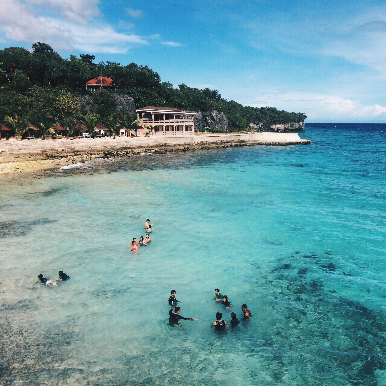 Beach: Salagdoong Beach Siquijor: Adventure Paradise